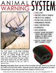 Animal Warning System